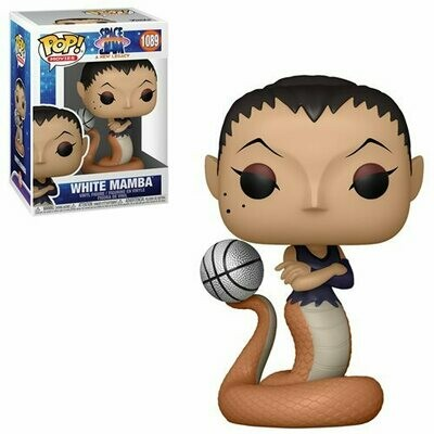 PRE-ORDER Space Jam: A New Legacy White Mamba Pop! Vinyl Figure