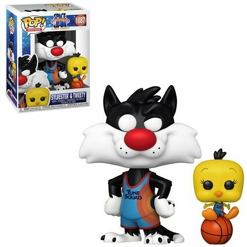 PRE-ORDER Space Jam: Sylvester and Tweety Pop! Vinyl Figure and Buddy - 2nd Batch