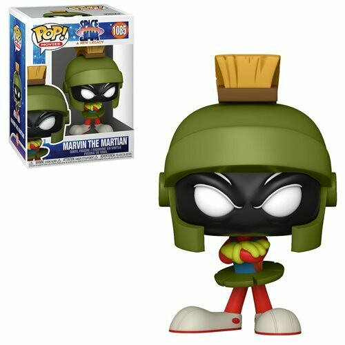 PRE-ORDER Space Jam: A New Legacy Marvin the Martian Pop! Vinyl Figure - 2nd Batch