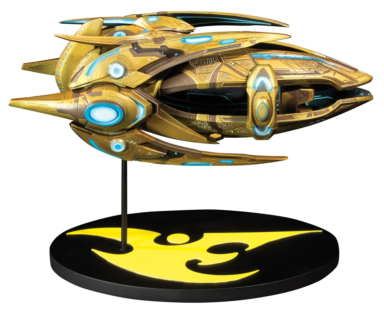 "PRE-ORDER Dark Horse StarCraft Protoss Carrier Ship 7"" Replica (preorder)"