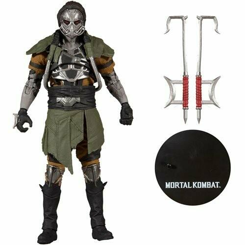 PRE-ORDER Mcfarlane Mortal Kombat Series 6 Kabal Action Figure