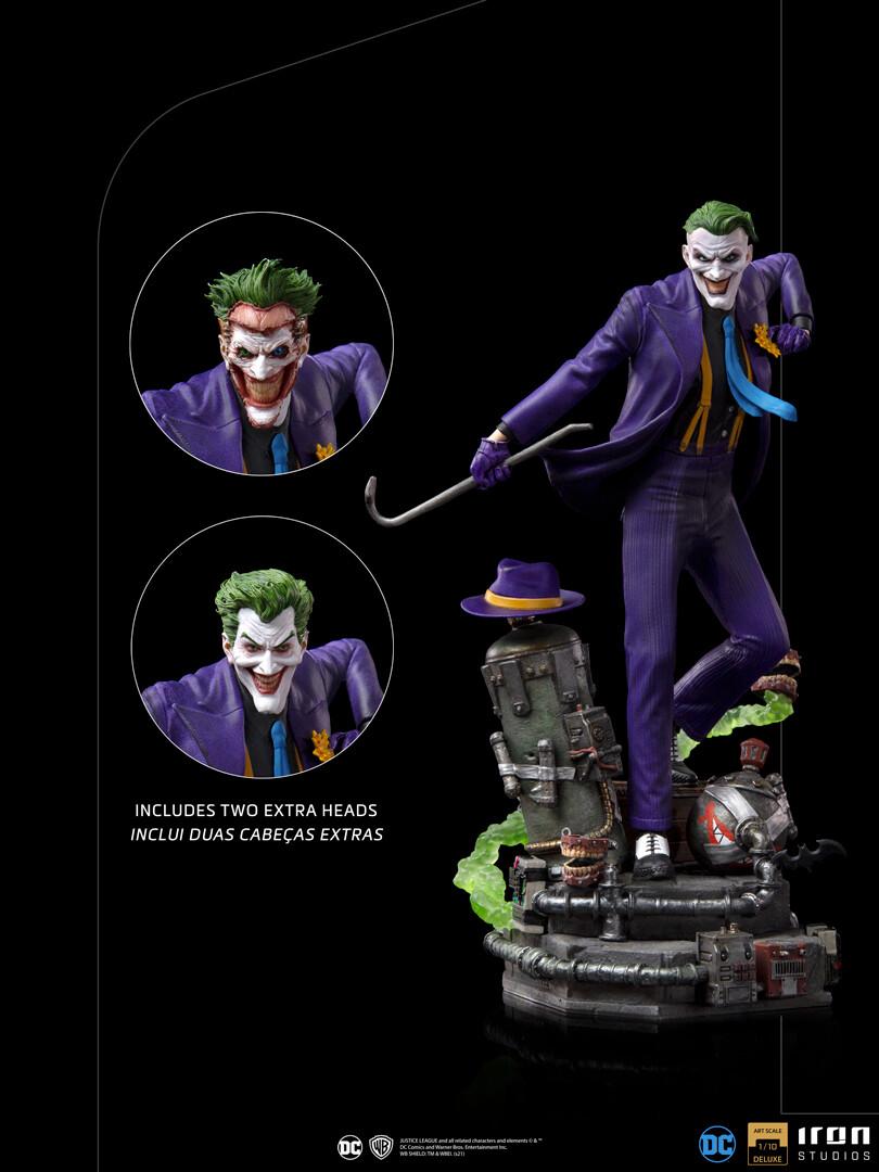 PRE-ORDER Iron Studios The Joker Deluxe Art Scale 1/10 - DC Comics