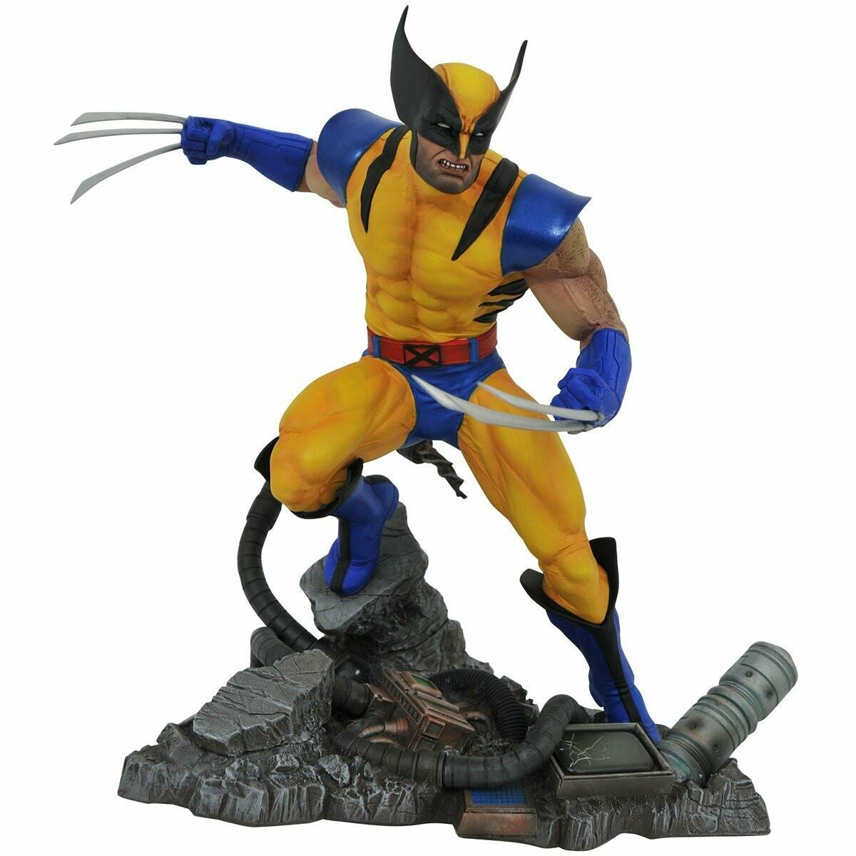 PRE-ORDER Diamond Select Marvel Gallery Vs. Wolverine Statue