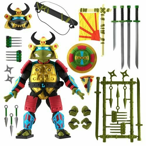 PRE-ORDER Super7 Teenage Mutant Ninja Turtles Ultimates Leo the Sewer Samurai 7-Inch Action Figure