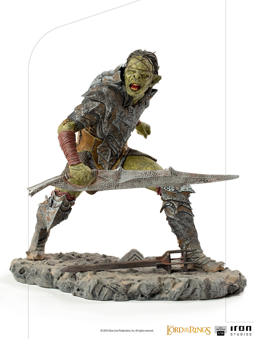 PRE-ORDER Iron Studios Swordsman Orc BDS Art Scale 1/10 - Lord of the Rings