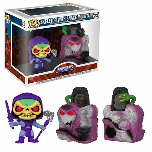 PRE-ORDER Funko Masters of the Universe Snake Mountain with Skeletor Pop! Town