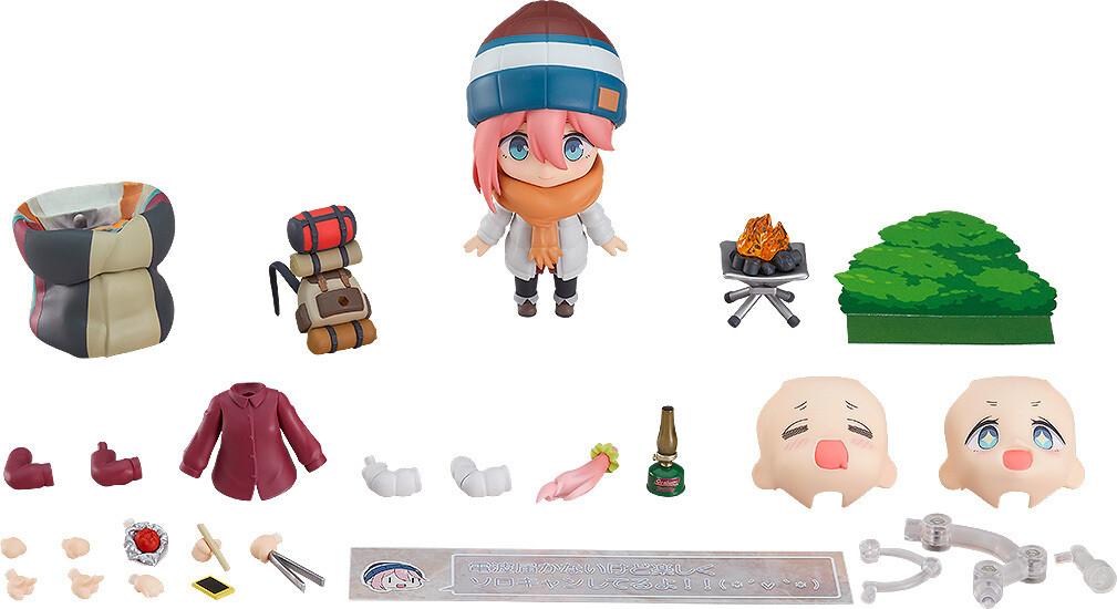 PRE-ORDER Good Smile Nendoroid Laid Back Camp Nadeshiko Kagamihara Solo Camp Ver. DX Edition