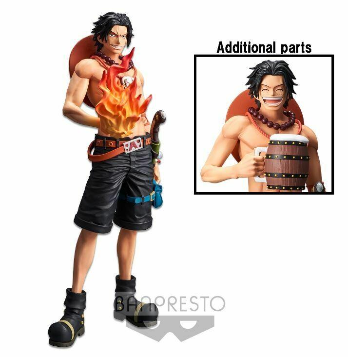 PRE-ORDER Banpresto One Piece Grandista Nero Portgas D. Ace