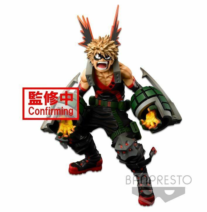 PRE-ORDER Banpresto My Hero Academia Banpresto World Figure Colosseum MOdeling Academy Super Master Star Piece Katsuki Bakugo The Brush