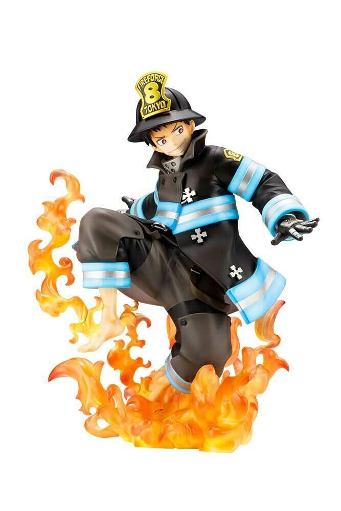 PRE-ORDER Kotobukiya Fire Force Shinra Kusakabe ArtFX J Statue