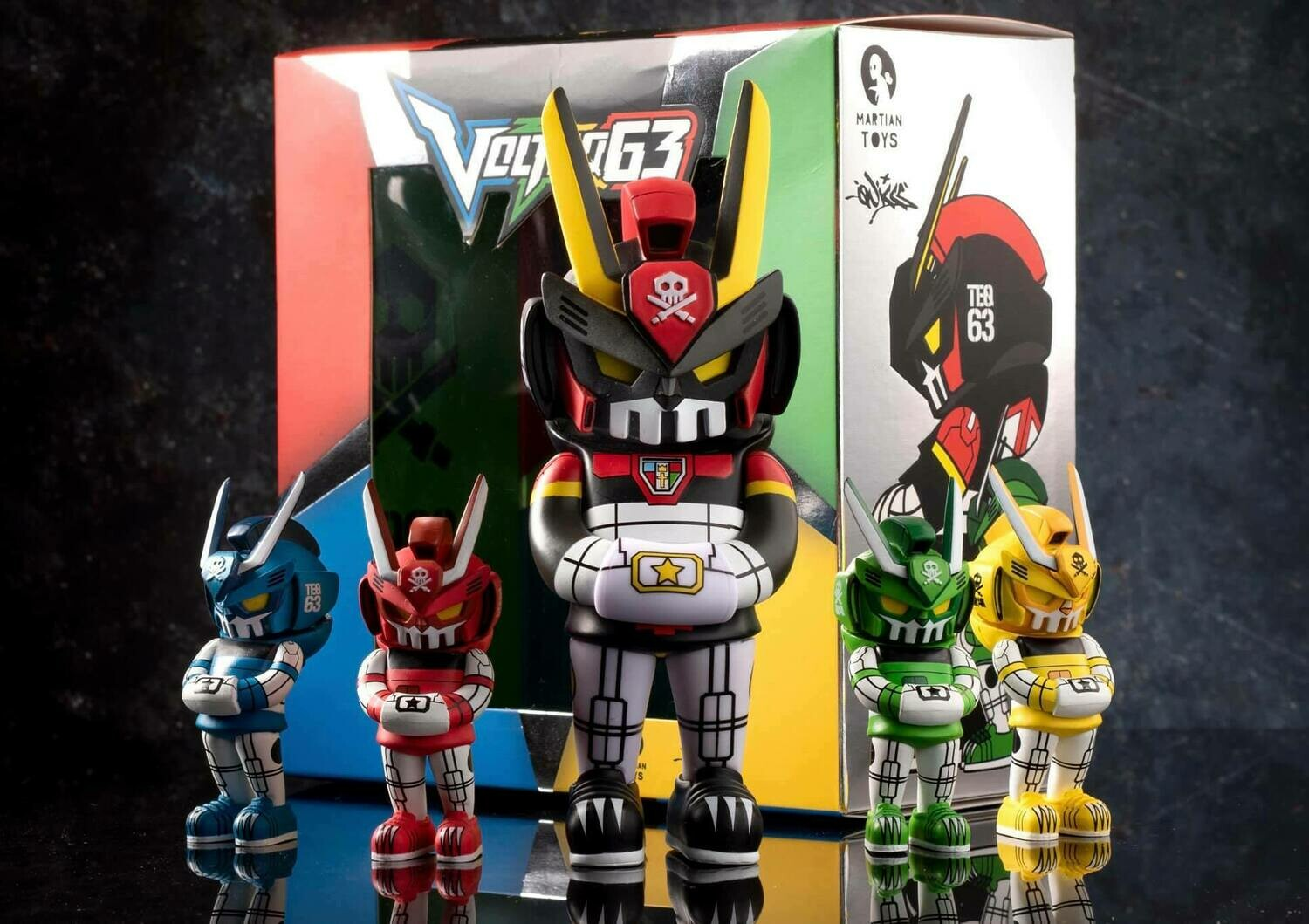 VolTeq63 Tigers Mode MicroTeq Set by Quiccs x Martian Toys