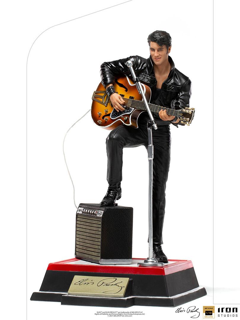 PRE-ORDER Iron Studios Elvis Presley Comeback Deluxe Art Scale 1/10th Scale