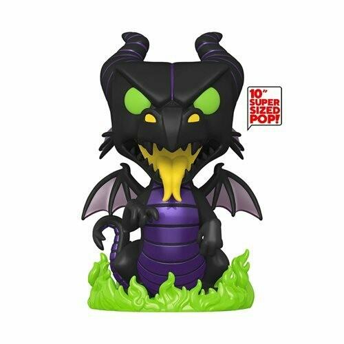 PRE-ORDER Funko Disney Villains Maleficent Dragon 10-Inch Jumbo Pop! Vinyl Figure