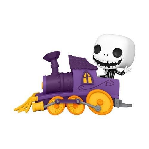 PRE-ORDER Funko Nightmare Before Christmas Jack in Train Engine Pop! Train