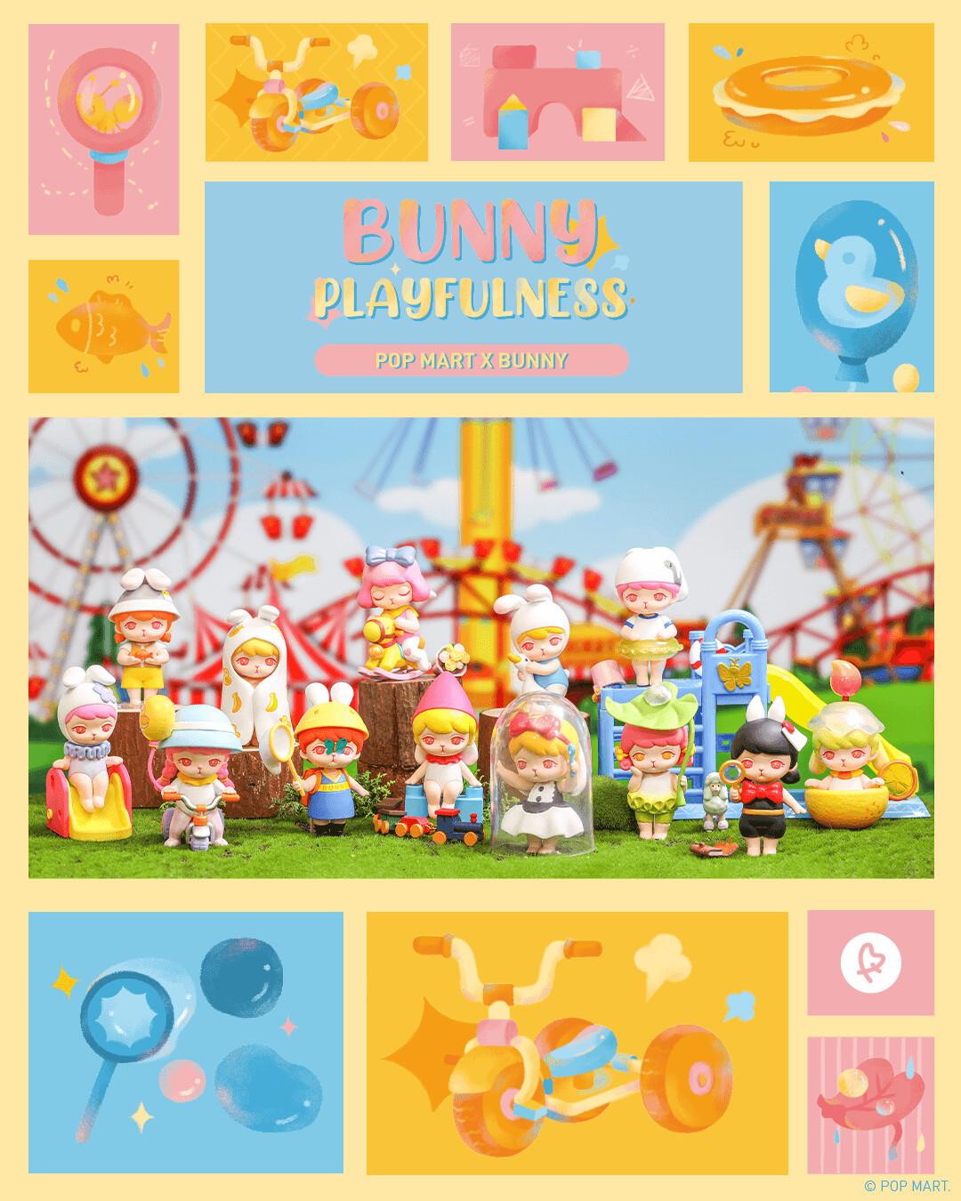 PRE-ORDER Pop Mart Bunny Playfulness Blind Box of 12