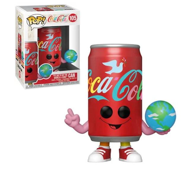 Funko Coca-Coca I'd Like to Buy the World a Coke Can Pop! Vinyl Figure