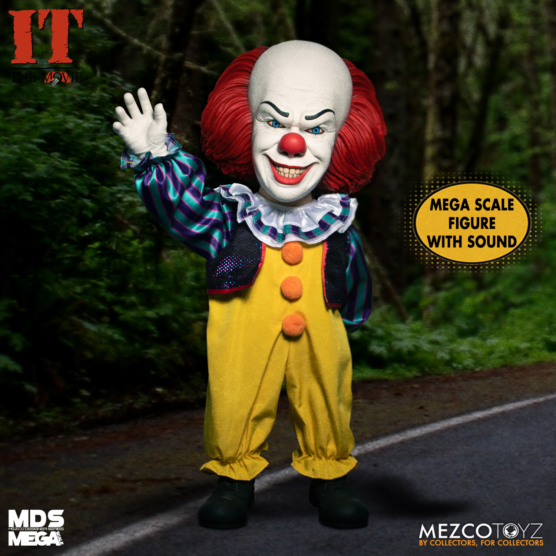 PRE-ORDER MEZCO MDS Mega IT: Pennywise 1990