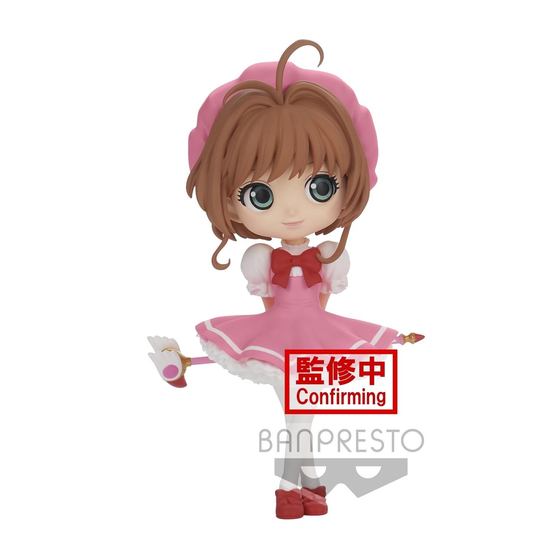 PRE-ORDER Banpresto Card Captor Sakura Clow Card Q Posket Sakura Kinomoto Ver. A