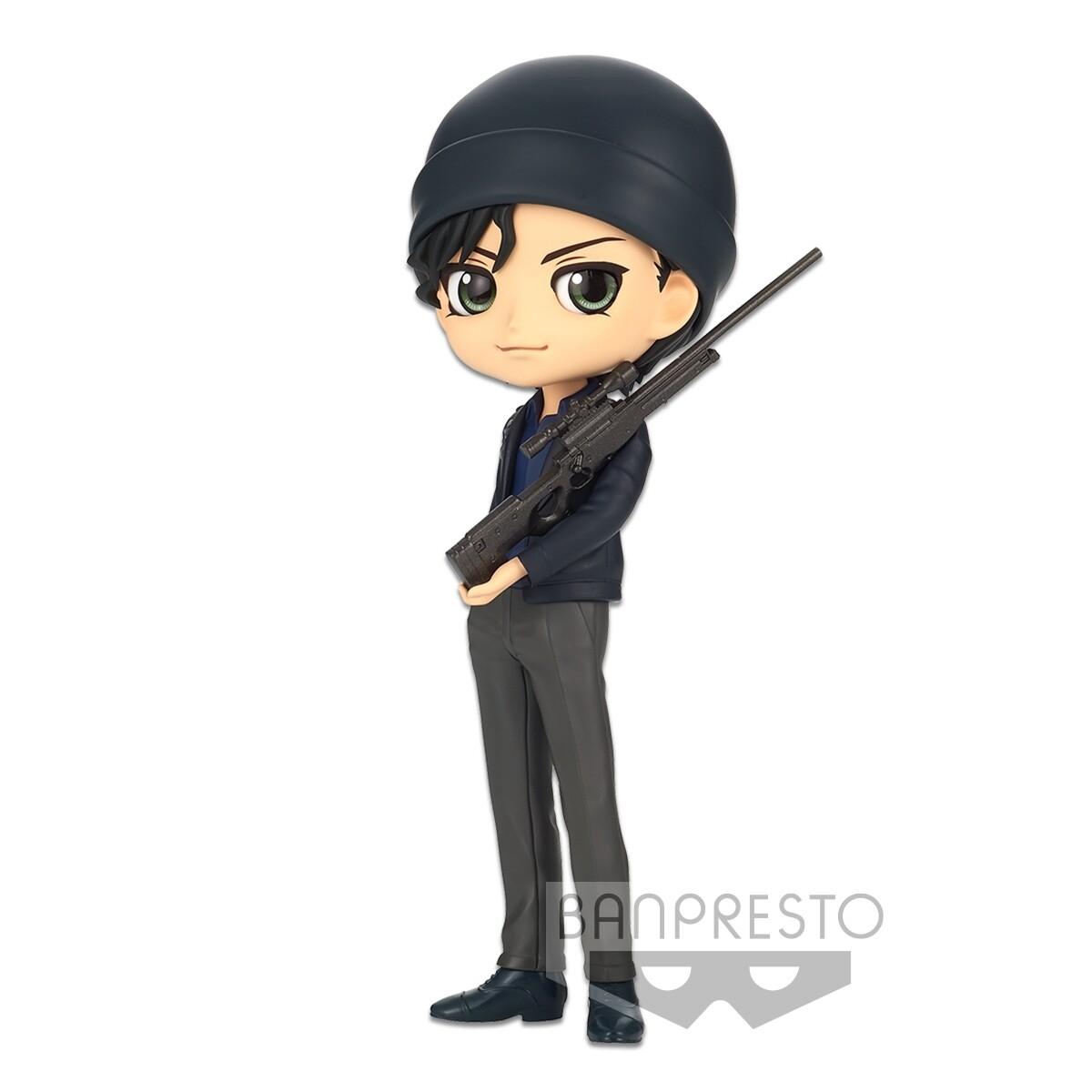PRE-ORDER Banpresto Detective Conan Q Posket Shuichi Akai Ver. B