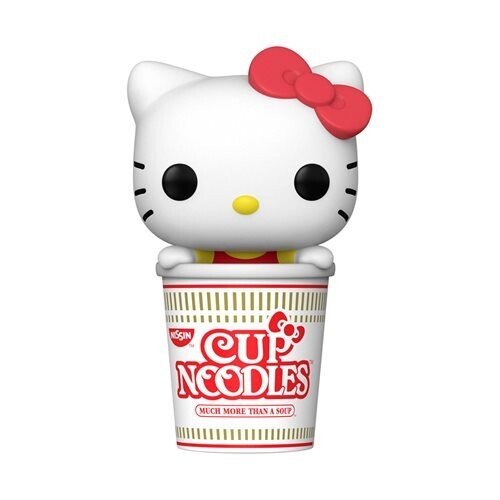 PRE-ORDER Sanrio: Hello Kitty x Nissin Hello Kitty in Noodle Cup Pop! Vinyl Figure