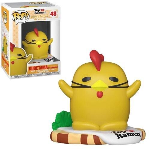 PRE-ORDER Sanrio: Gudetama X Nissin Chicken Gudetama Pop! Vinyl Figure