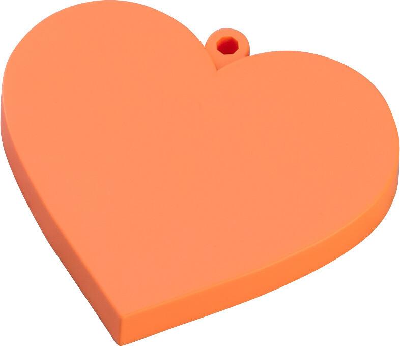 PRE-ORDER Good Smile Nendoroid More Heart Base (Orange)