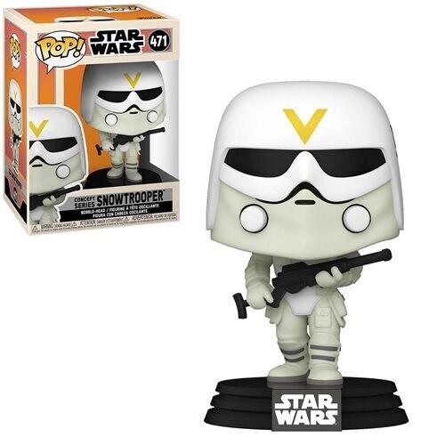 PRE-ORDER Star Wars: Concept Series Snowtrooper Pop! Vinyl Figure