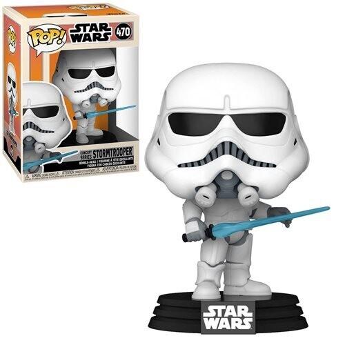 PRE-ORDER Star Wars: Concept Series Stormtrooper Pop! Vinyl Figure