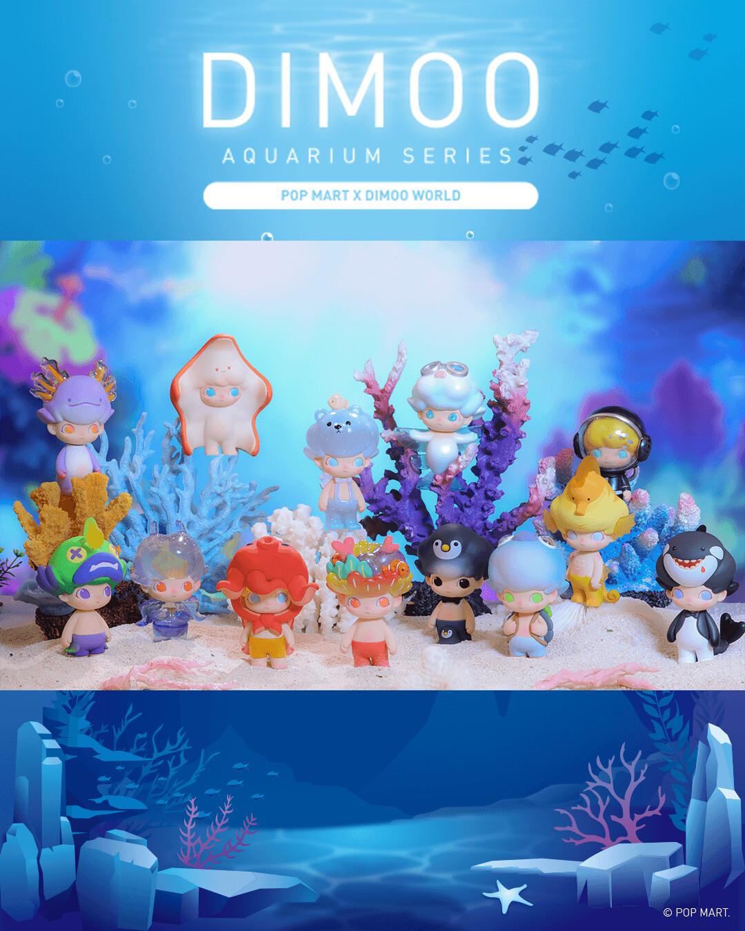 PRE-ORDER Pop Mart Dimoo Aquarium Series Blind Box of 12
