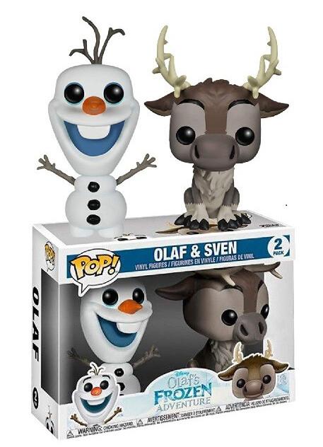 Funko Frozen - Olaf and Sven 2 Pack Pop! Vinyl Figure