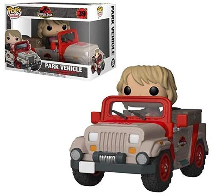 Funko Jurassic Park - Park Vehicle Pop! Rides Vinyl Figure