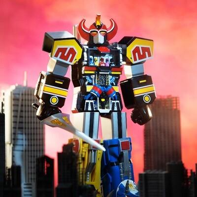 PRE-ORDER Super7 Mighty Morphin Power Rangers Super Cyborg - Megazord (Original)