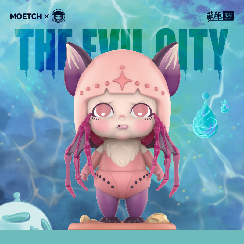 PRE-ORDER Moetch Tiny Evil City Blind Box of 12