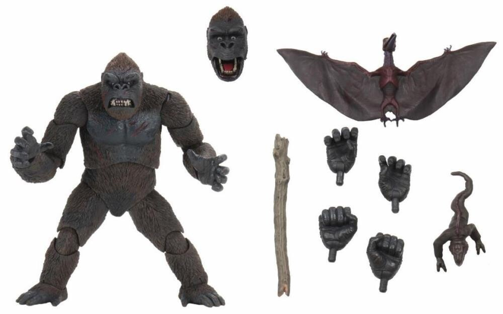 "Neca King Kong - 7"" Scale Action Figure - King Kong Skull Island"