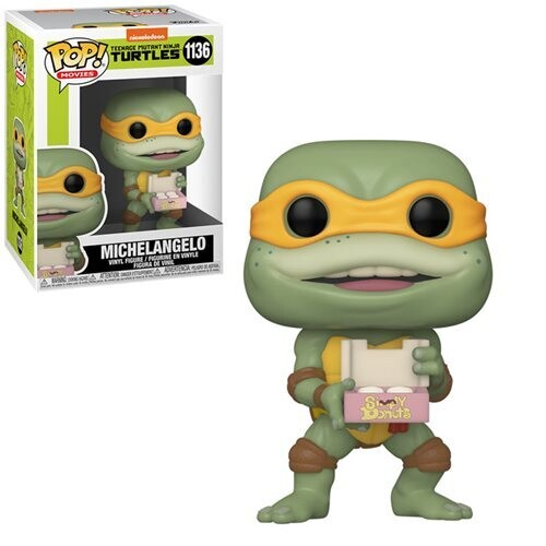 PRE-ORDER Teenage Mutant Ninja Turtles II: The Secret of the Ooze Michelangelo Pop! Vinyl Figure