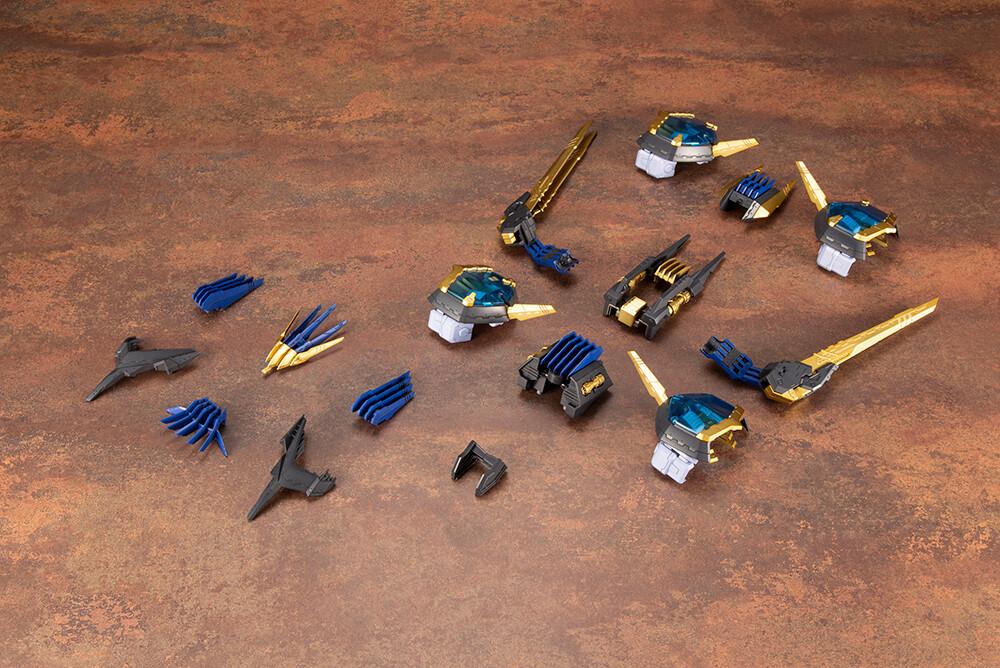 PRE-ORDER Kotobukiya ZOIDS LIGER ZERO EMPIRE Ver. X UNIT Plastic Model Kit (Additional Parts Only)