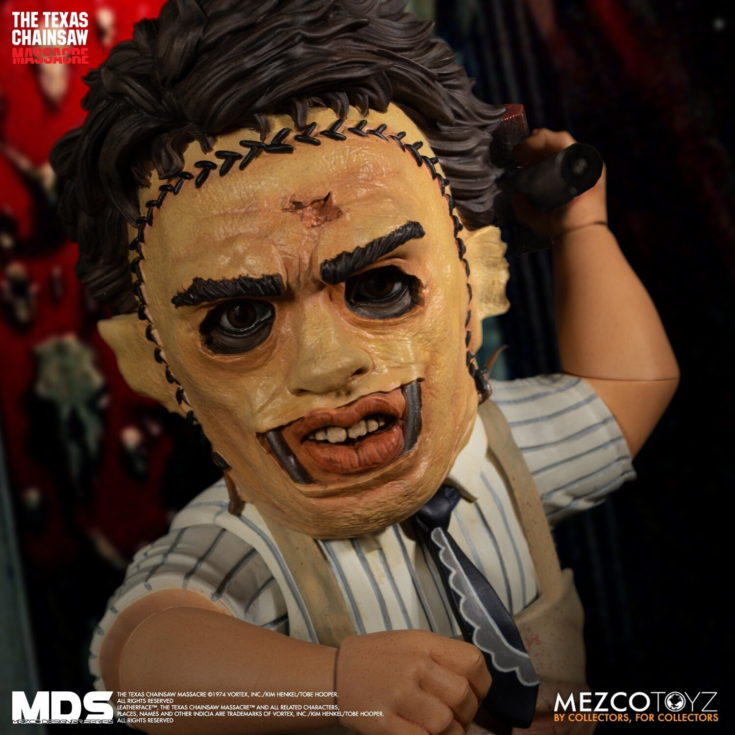PRE-ORDER MEZCO MDS The Texas Chainsaw Massacre (1974): Leatherface