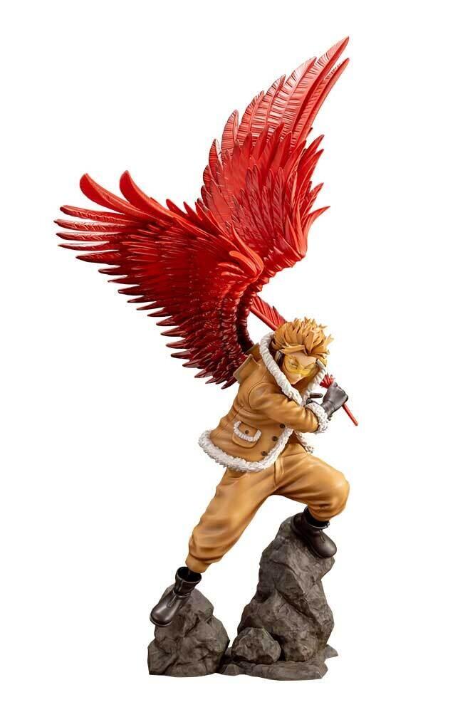 PRE-ORDER Kotobukiya My Hero Academia ARTFX J Hawks with Bonus Part