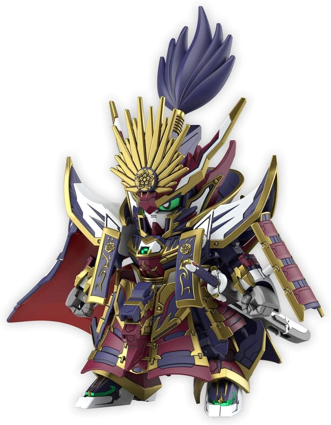 PRE-ORDER Bandai SDW Heroes Nobunaga Gundam Epyon Plastic Model Kit