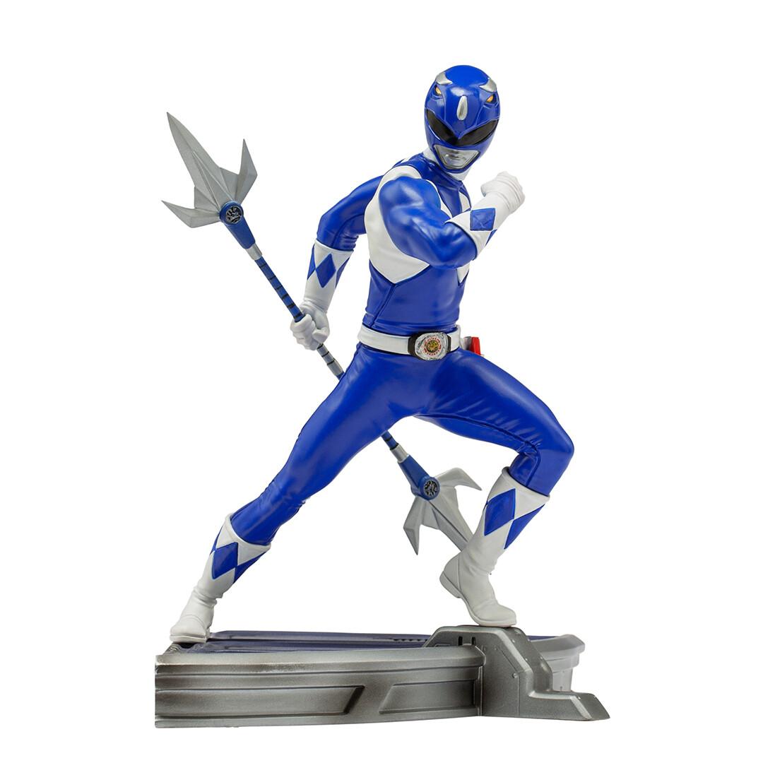 PRE-ORDER Iron Studios Blue Ranger BDS Art Scale 1/10 - Power Rangers