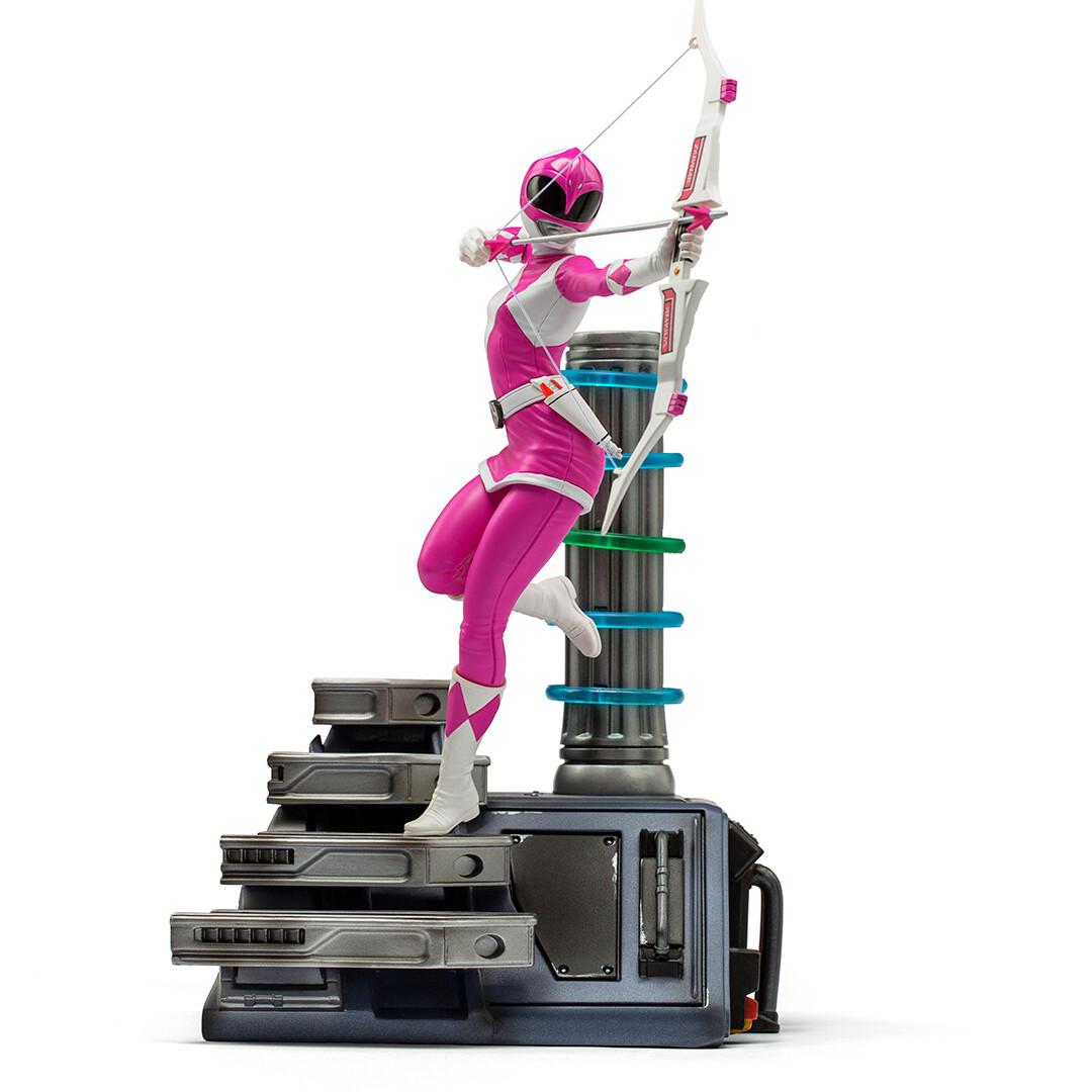 PRE-ORDER Iron Studios Pink Ranger BDS Art Scale 1/10 - Power Rangers