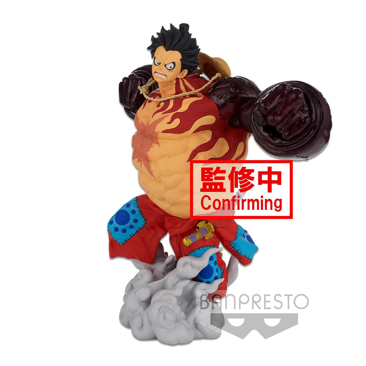 PRE-ORDER Banpresto One Piece Banpresto World Figure Colosseum 3 Super Master Stars Piece Monkey D Luffy Gear 4 The Original