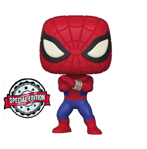 PRE-ORDER Marvel Spider-Man Japanese TV Series Pop! Vinyl Figure - SE Sticker