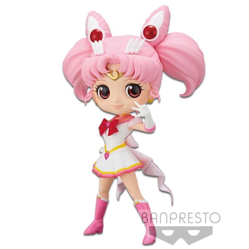 PRE-ORDER Banpresto Sailor Moon Eternal The Movie Q Posket Super Sailor Chibi Moon Ver. A