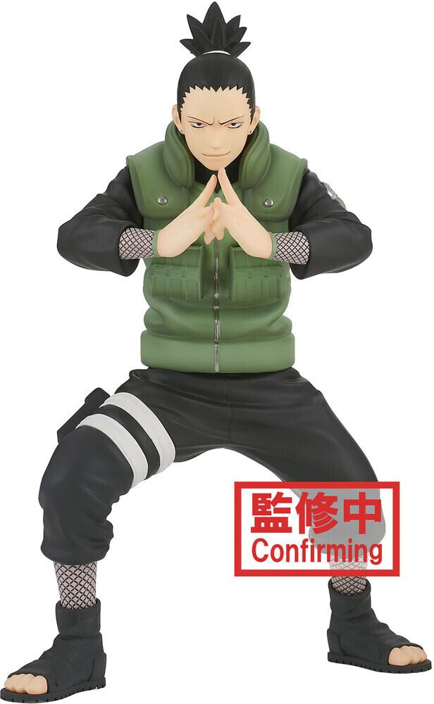 PRE-ORDER Banpresto Naruto Shipudden Vibration Stars Shikamaru Nara