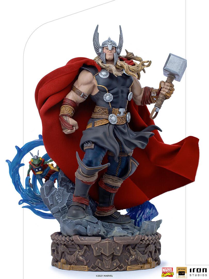 PRE-ORDER Iron Studios Thor Unleashed Deluxe - Art Scale 1/10 - Marvel Comics