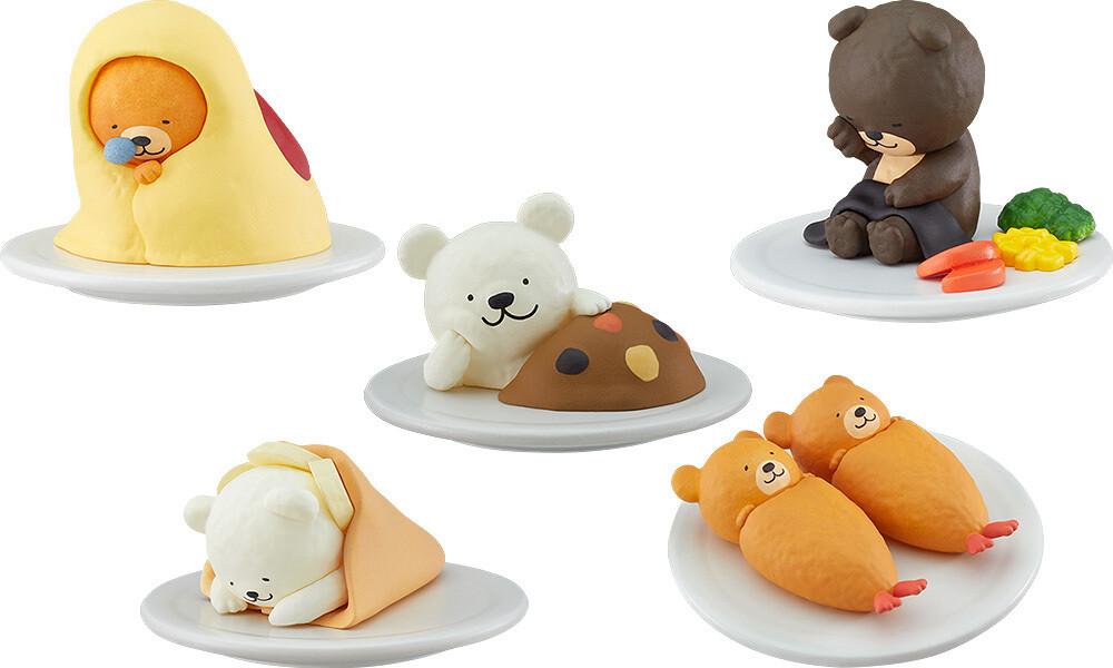PRE-ORDER Good Smile (Trading)Oyasumi Restaurant Mascots (6pcs/box)