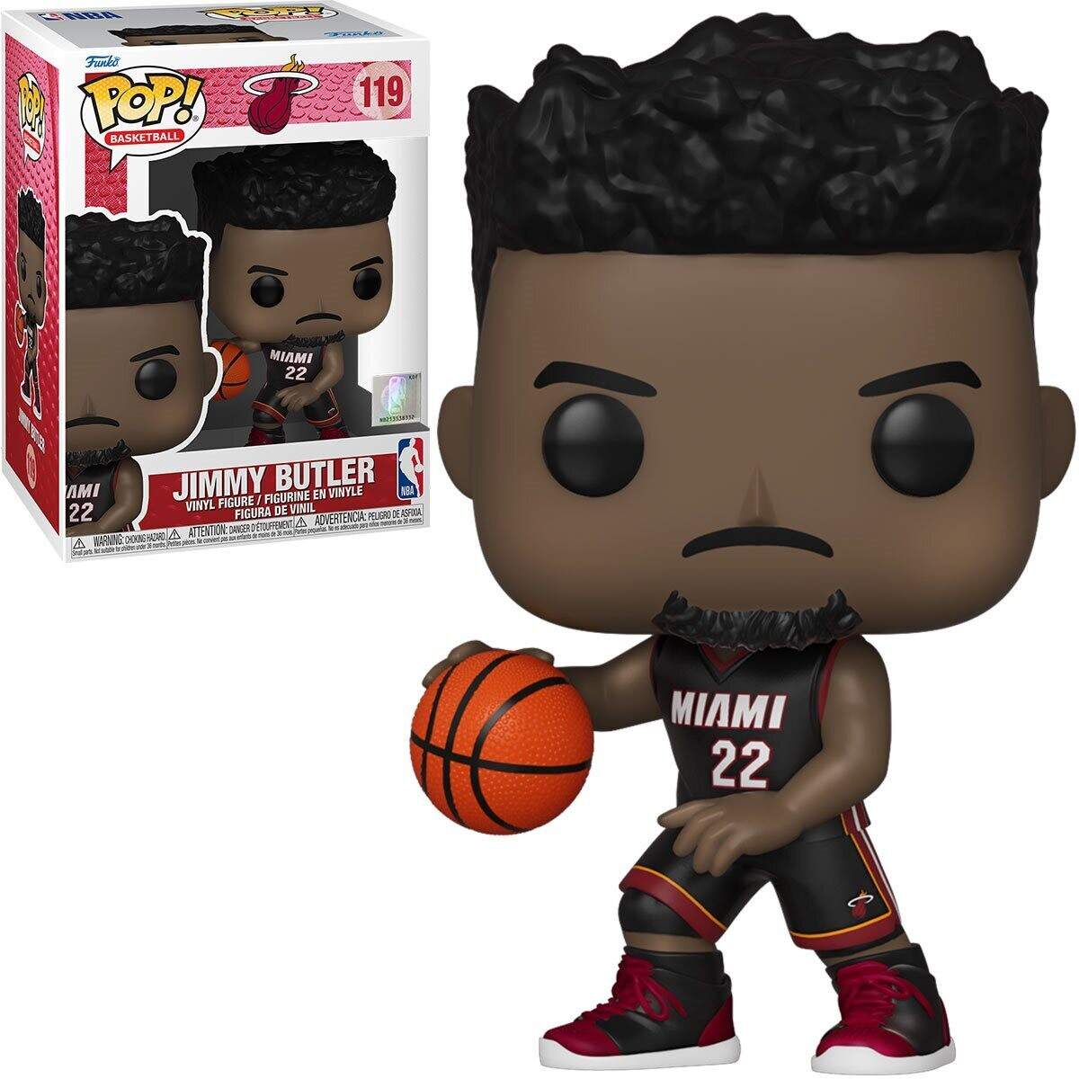 Funko NBA Heat Jimmy Butler (Black Jersey) Pop! Vinyl Figure