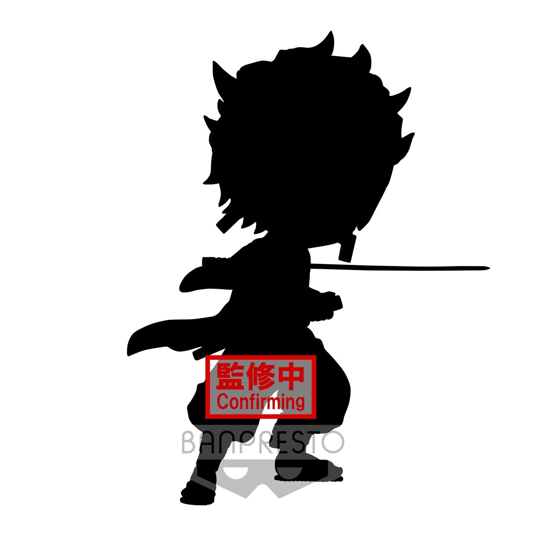 PRE-ORDER Banpresto Demon Slayer Kimetsu no Yaiba Q Posket Tanjiro Kamado Action Pose Ver. A