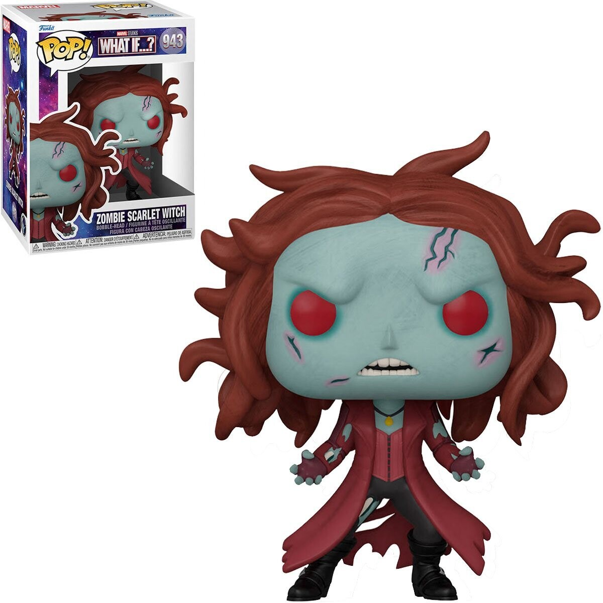 PRE-ORDER Funko What if Zombie Scarlet Witch Pop! Vinyl Figure